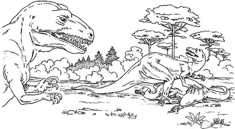 jurassic world coloring pages fallen kingdom