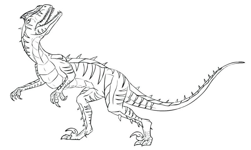 jurassic world coloring pages pdf