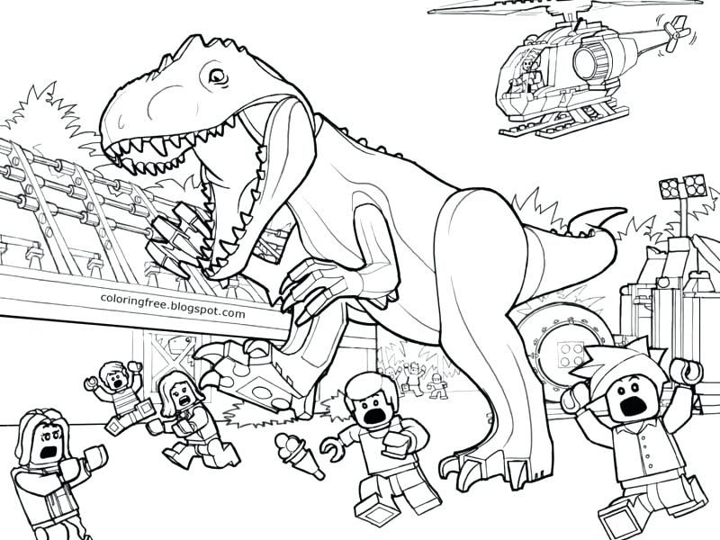 jurassic world coloring pages printable