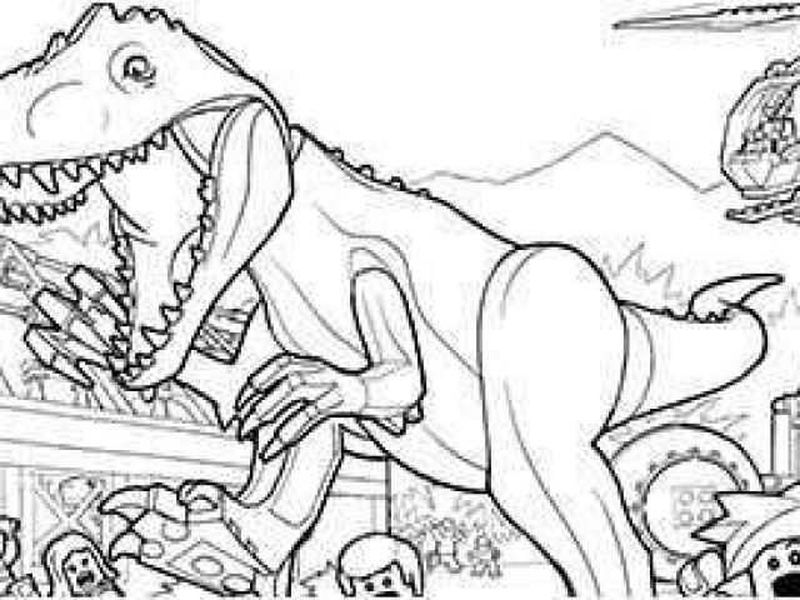 jurassic world fallen kingdom blue coloring pages