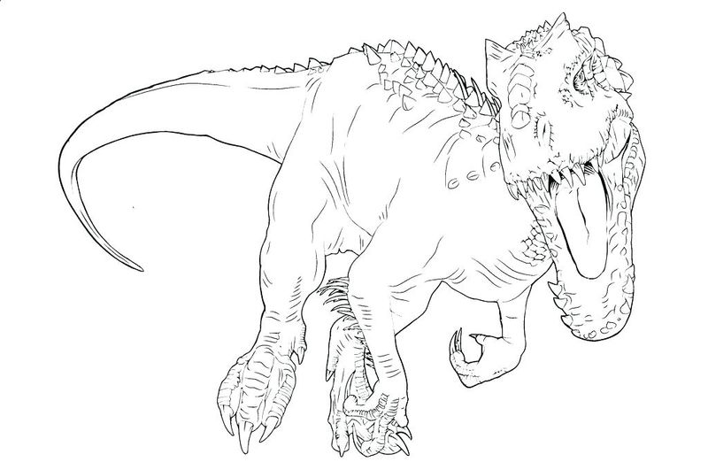 jurassic world fallen kingdom coloring pages free