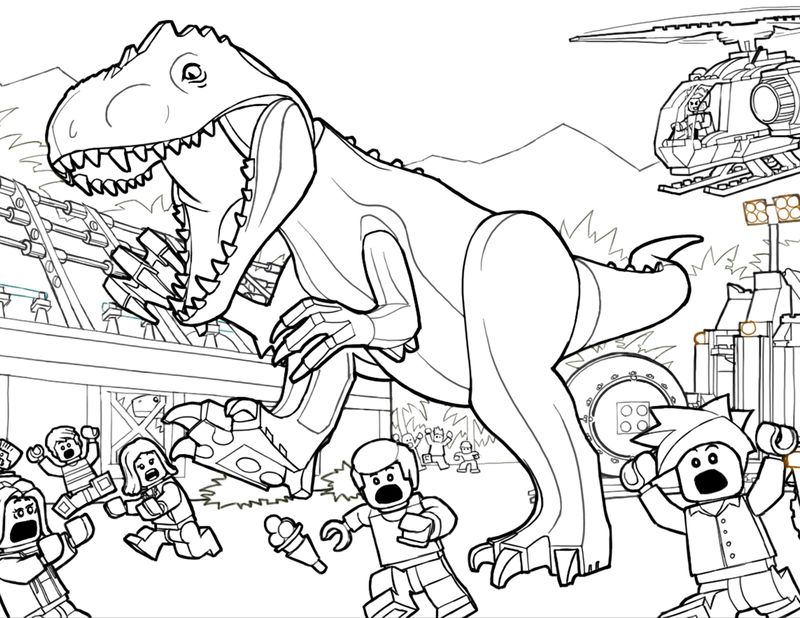 jurassic world fallen kingdom coloring pages pdf