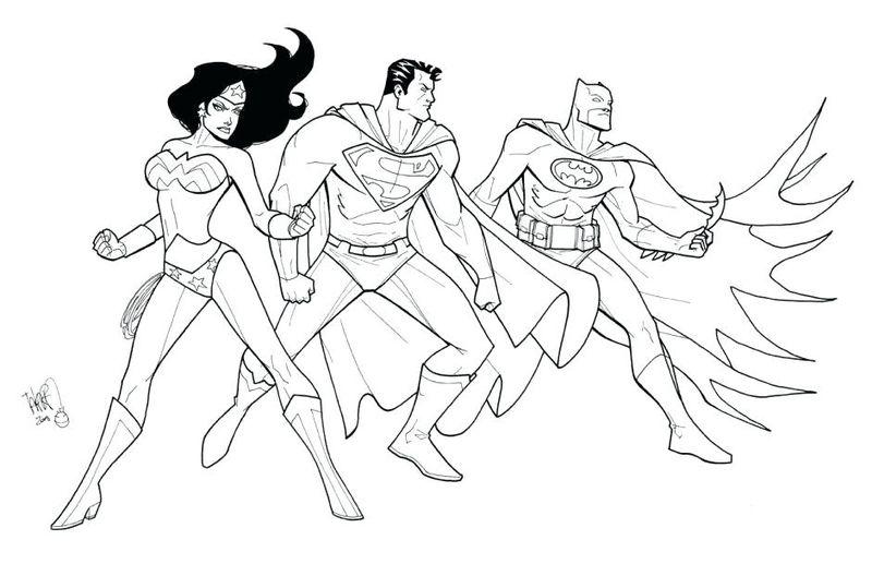 justice league action coloring pages
