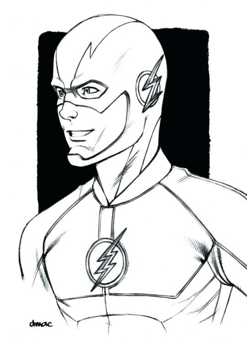 justice league colouring pages