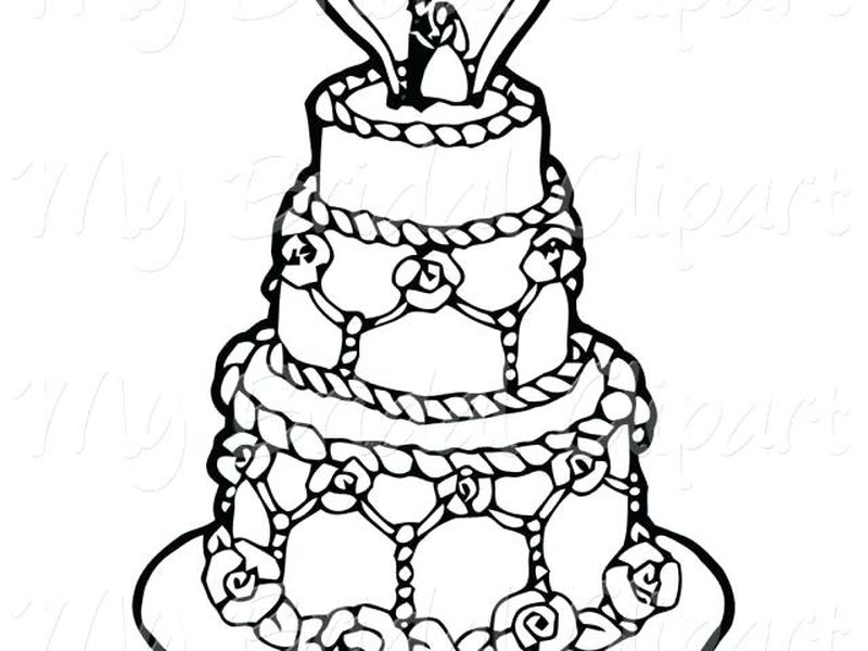king cake coloring pages