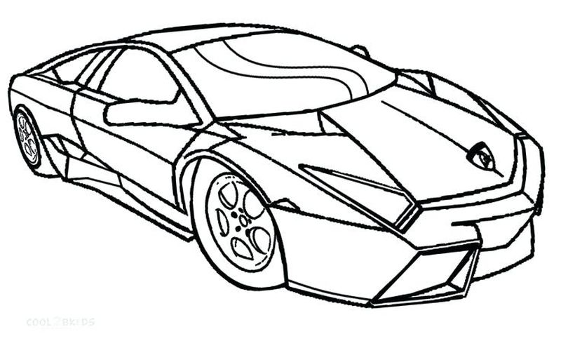 lamborghini coloring pages for adults