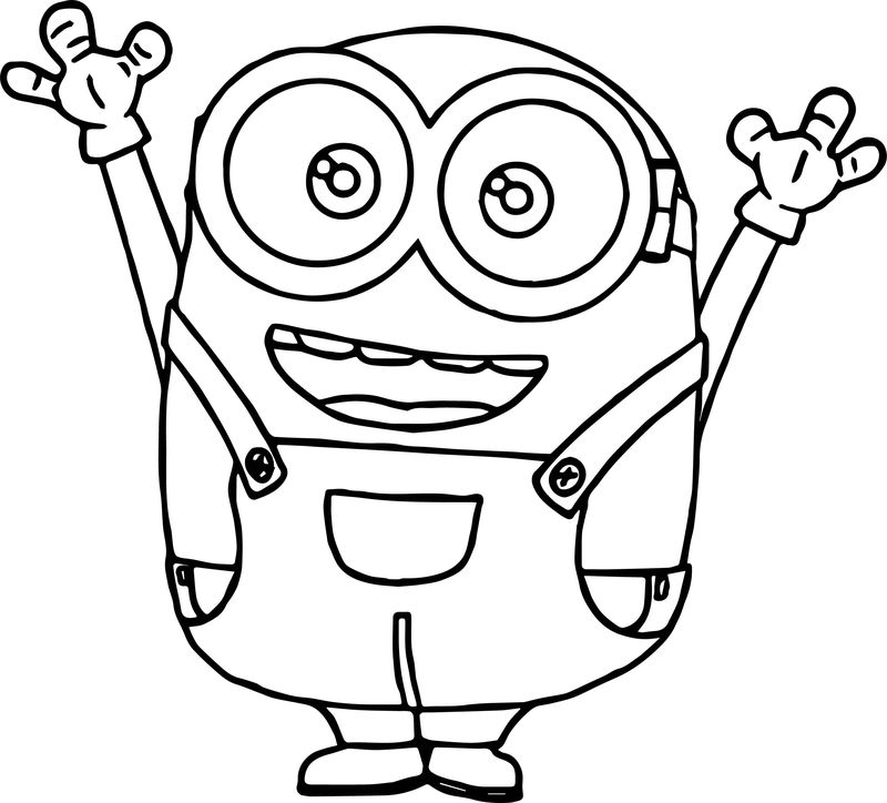 lego minions coloring pages