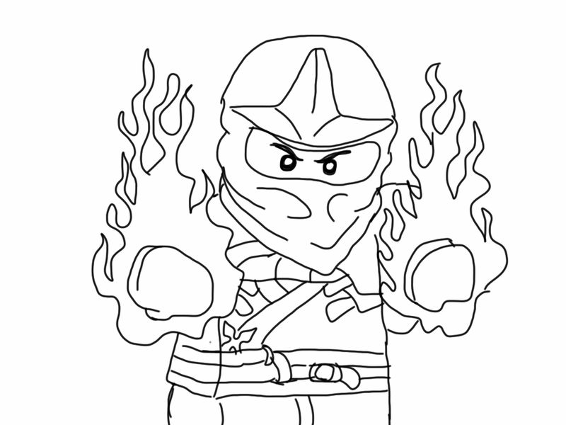lego ninjago coloring pages online