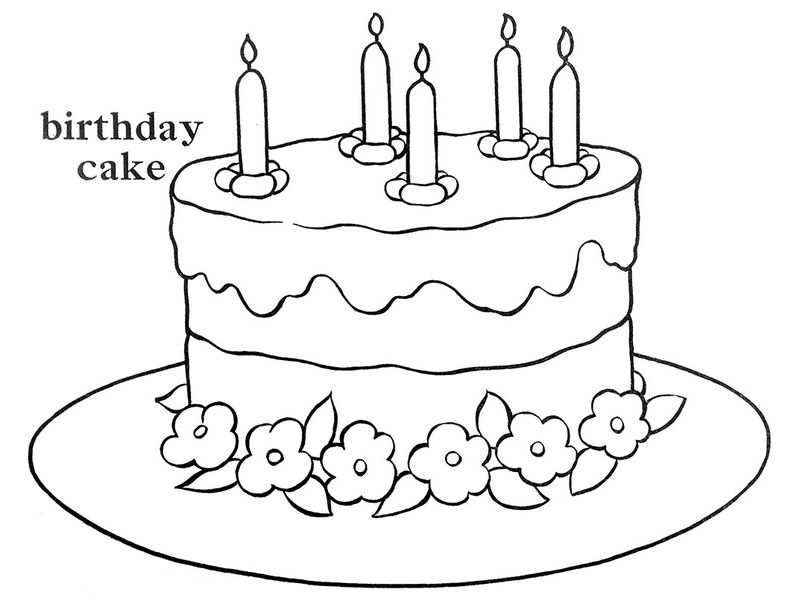 little mermaid cake coloring pages