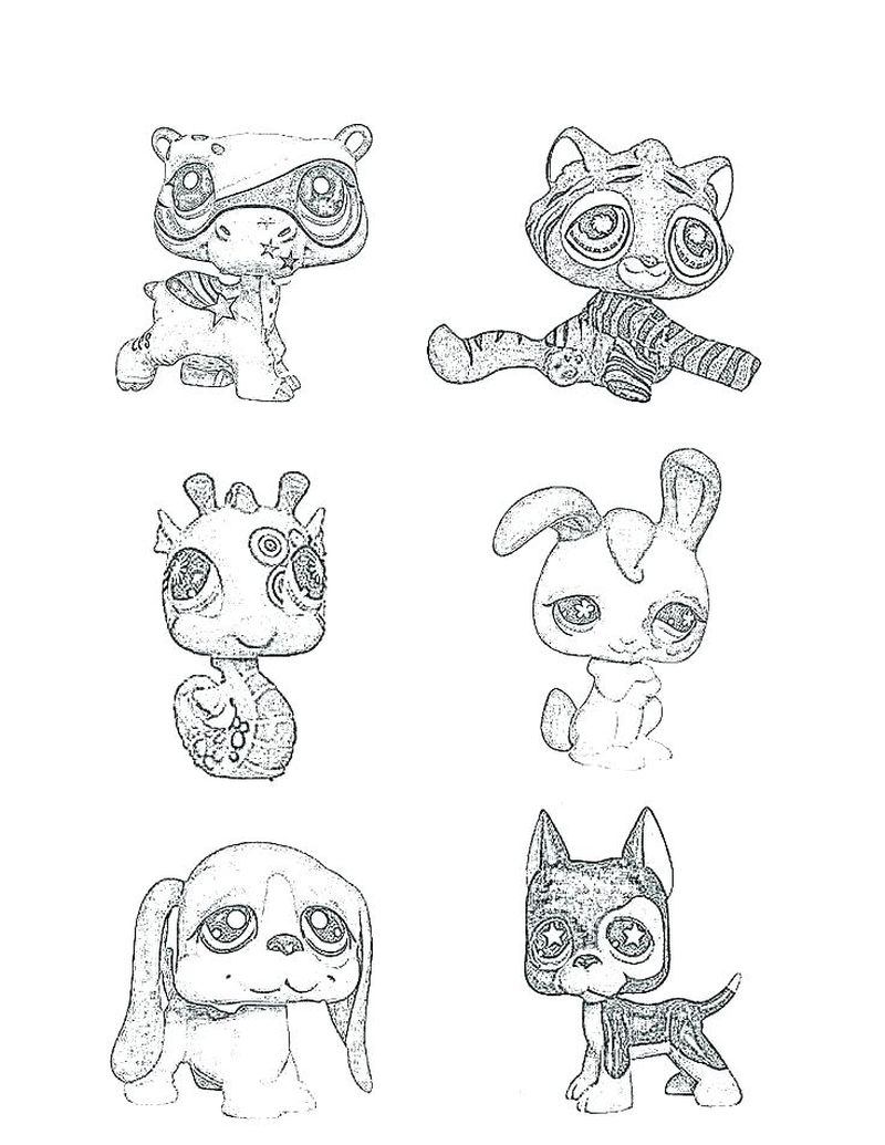 littlest pet shop coloring pages free to print