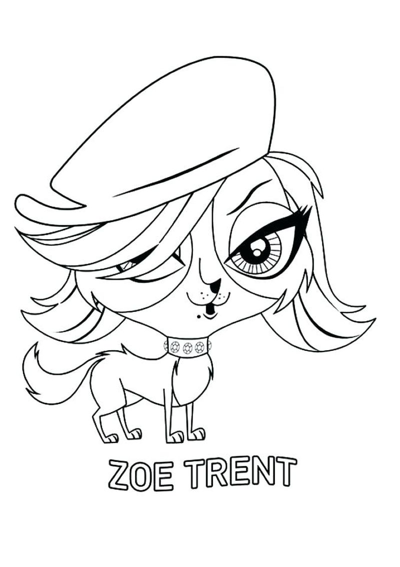 littlest pet shop colouring pages to print