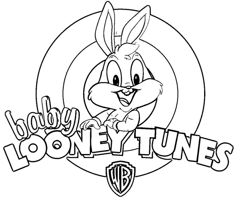 looney tunes cartoon characters coloring pages