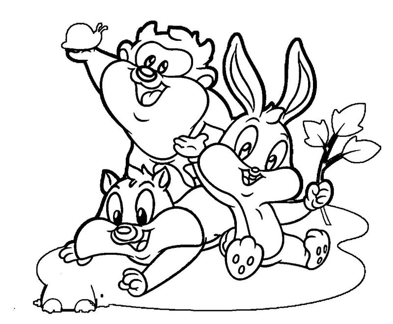 looney tunes coloring pages pdf