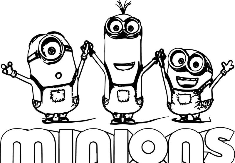 minion halloween coloring pages printable