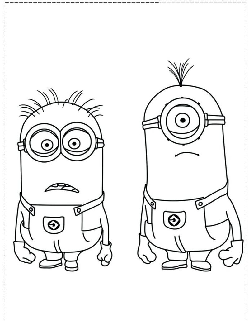 minions 2 coloring pages