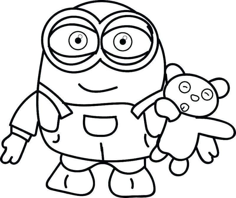 minions birthday coloring pages