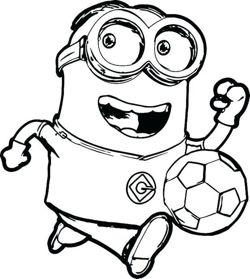minions coloring pages free