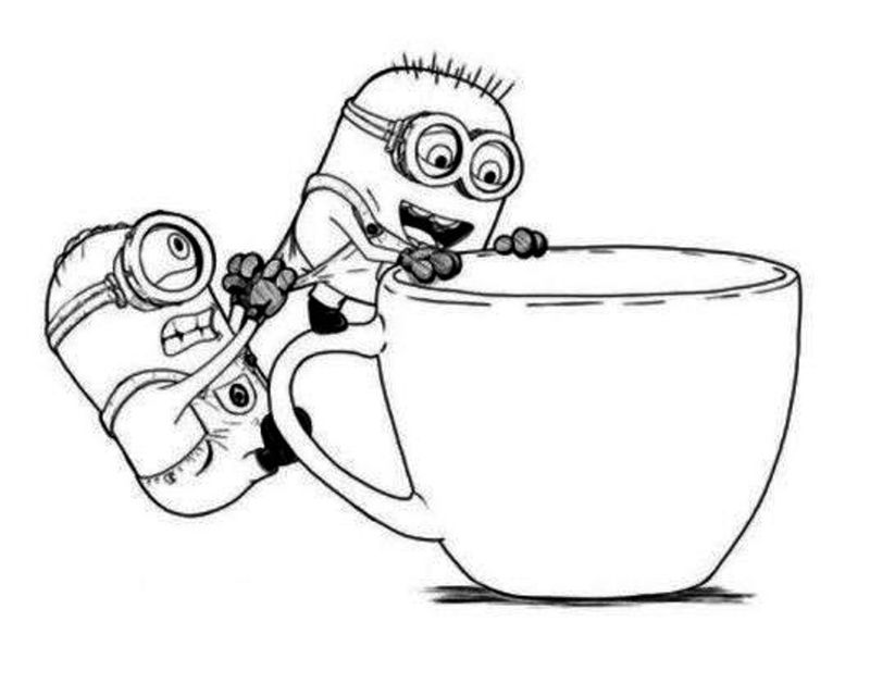 minions coloring pages supercoloring