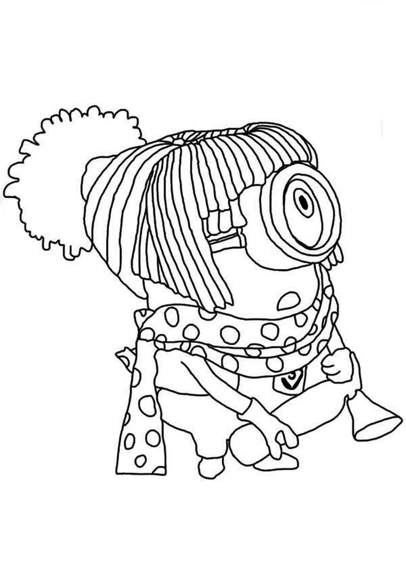 minions colouring pages online
