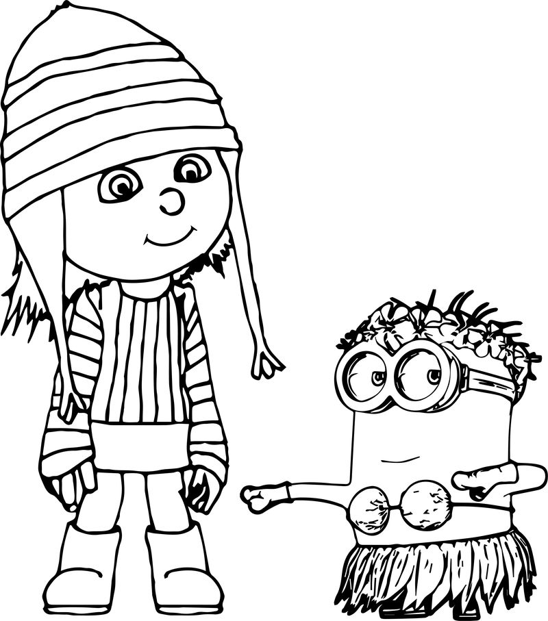 minions colouring pages pdf