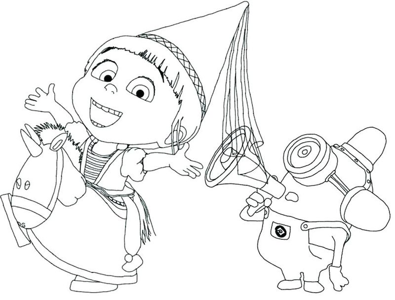 minions easter coloring pages