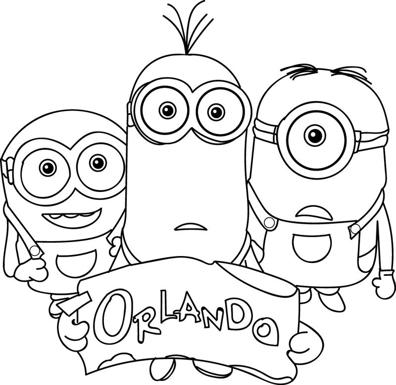 minions thanksgiving coloring pages