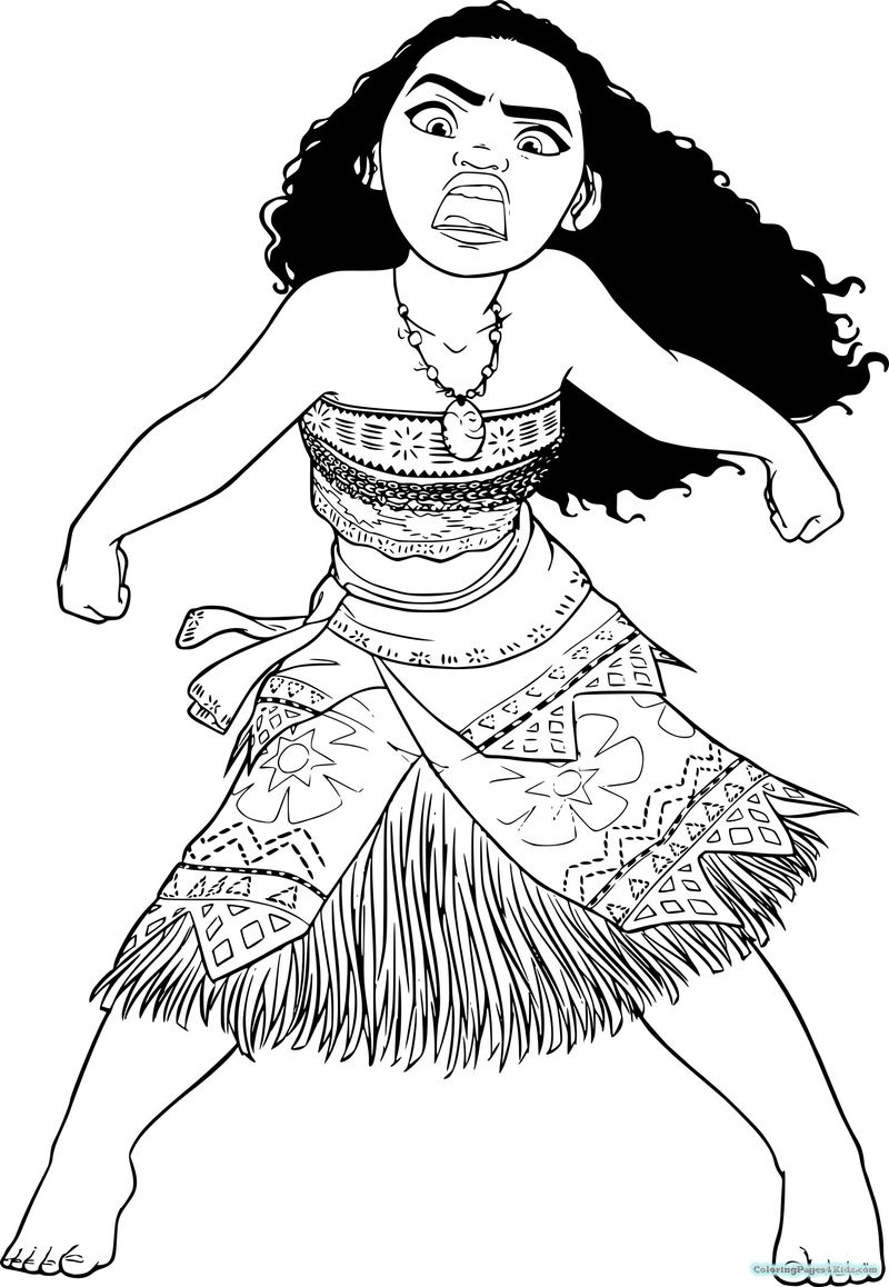 moana coloring pages download