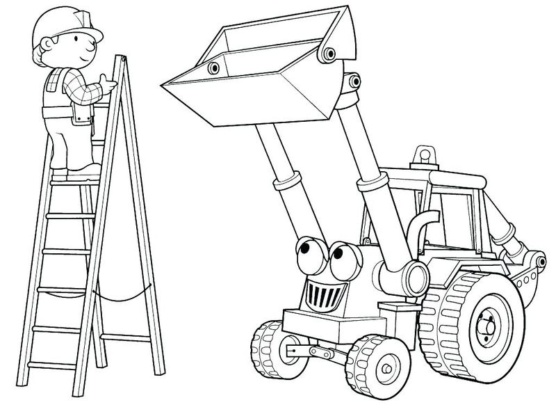 momjunction bob the builder coloring page