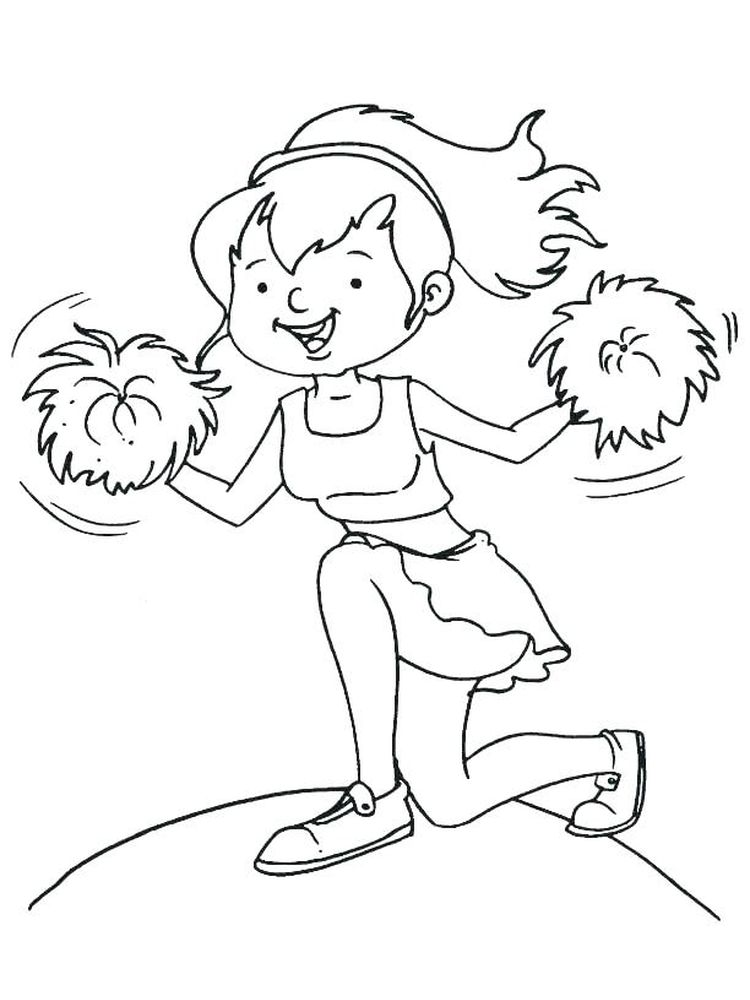 monster high cheerleader coloring pages