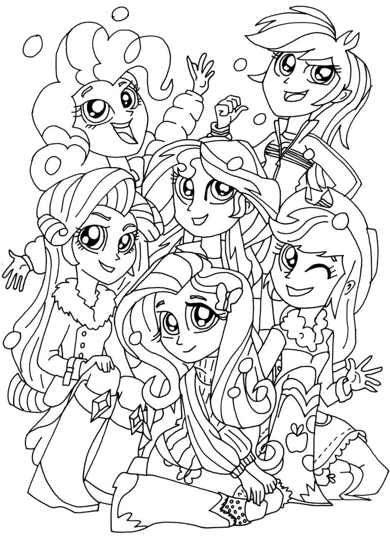 my little pony equestria girl coloring pages applejack