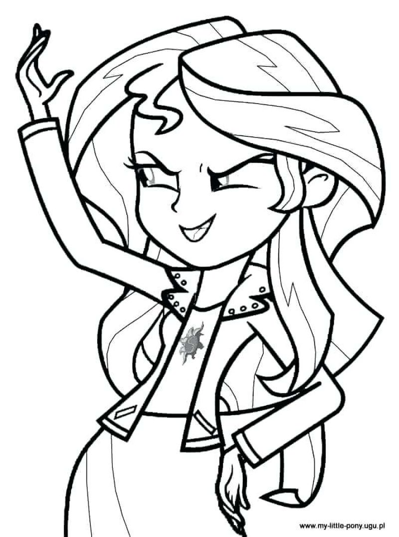 my little pony equestria girl fluttershy coloring pages