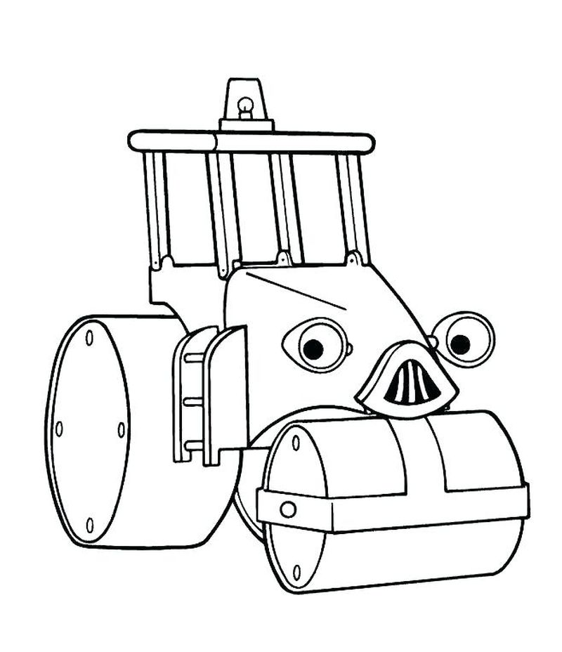 new bob the builder coloring pages