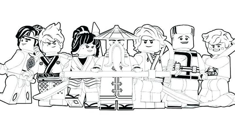 ninja assassin coloring pages