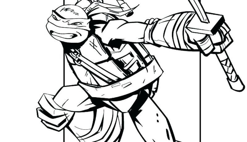 ninja coloring pages images
