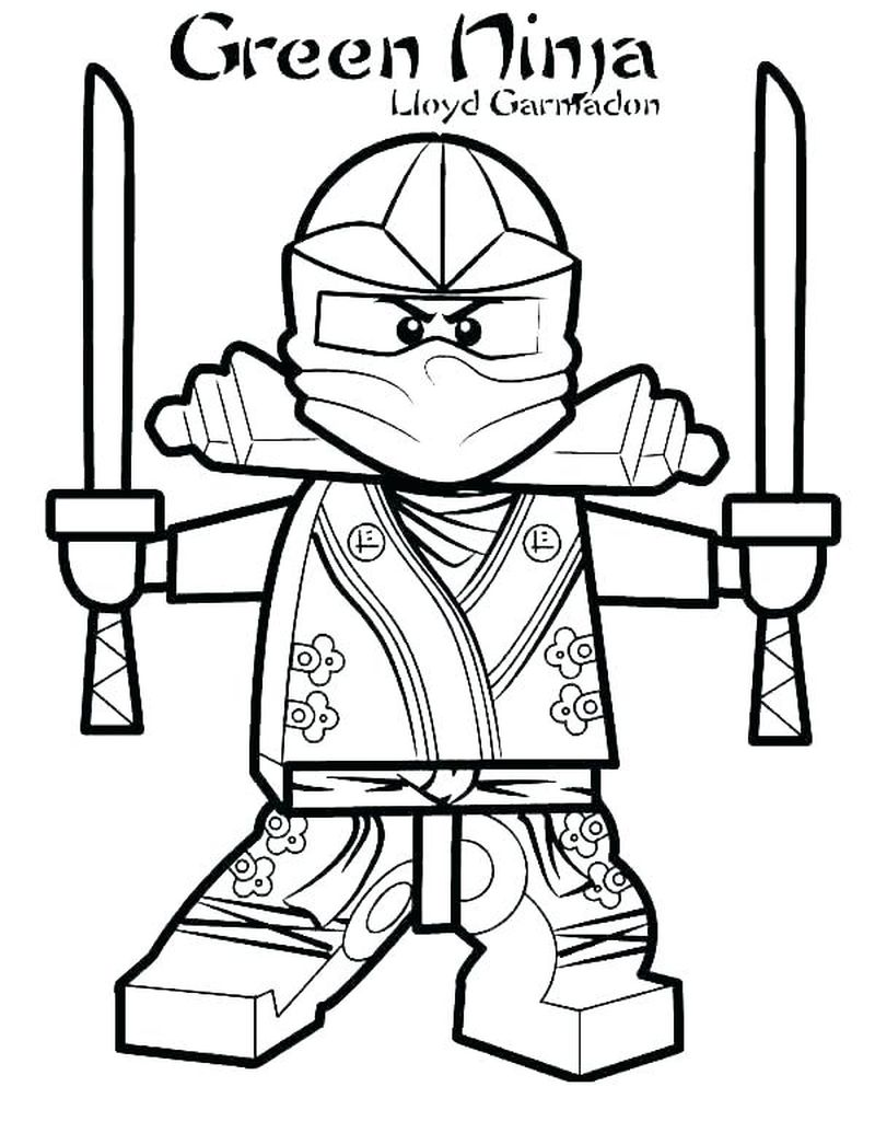 ninja coloring pages pdf