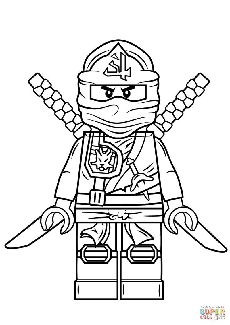 ninja coloring pages to print free