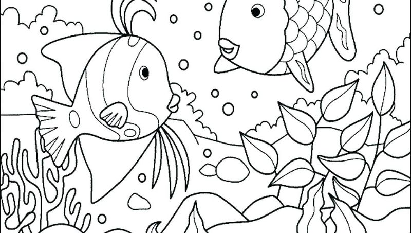 ocean coloring pages for preschoolers pdf