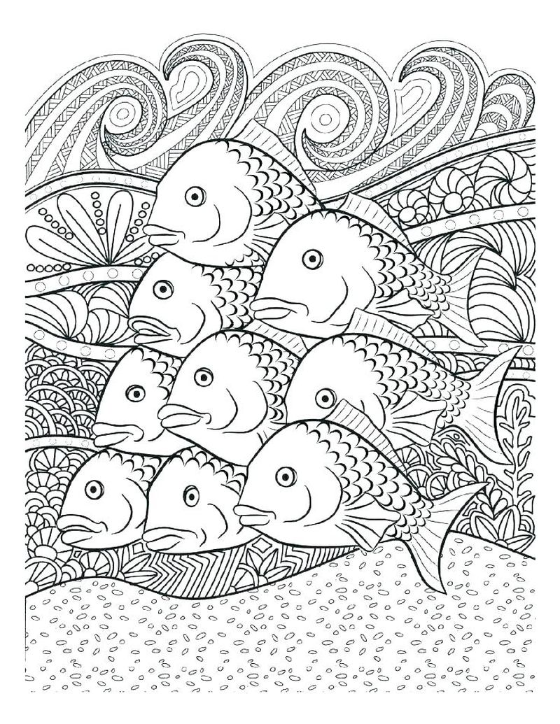 ocean coloring pages