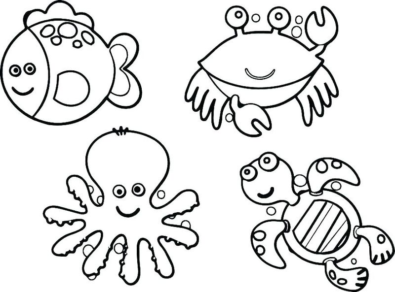 ocean colouring pages for adults
