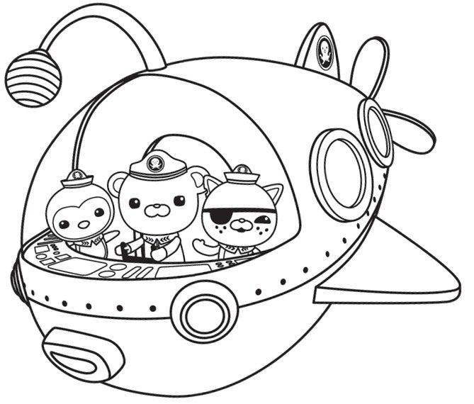 octonauts coloring pages facebook pdf