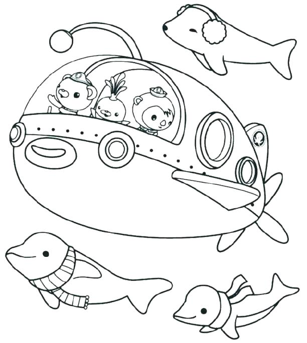 octonauts coloring pages free