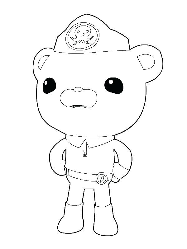 octonauts colouring pages free