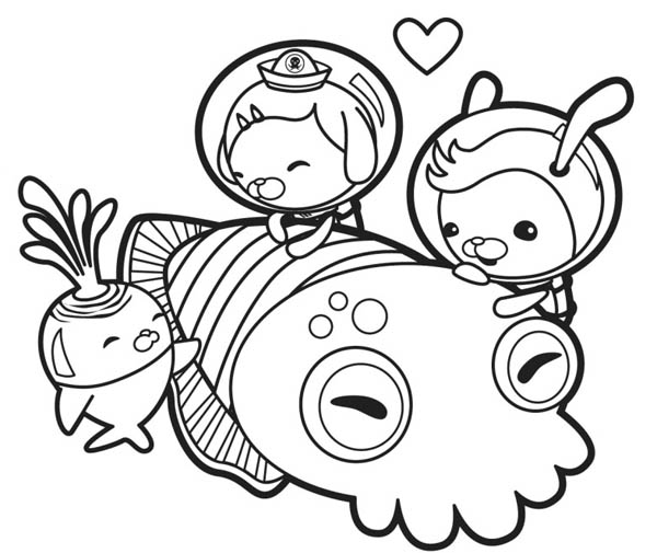 octonauts colouring pages pdf