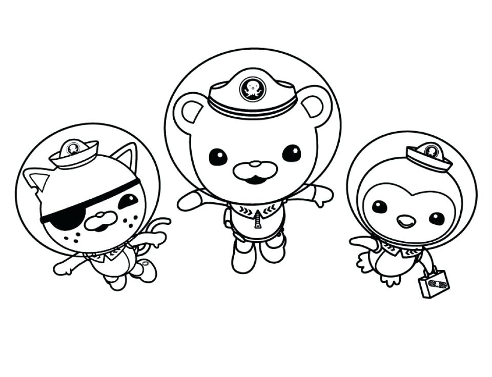octonauts creature report coloring pages