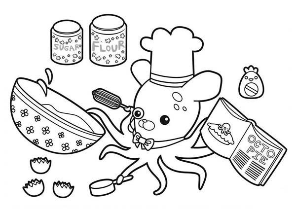 octonauts gup d coloring pages