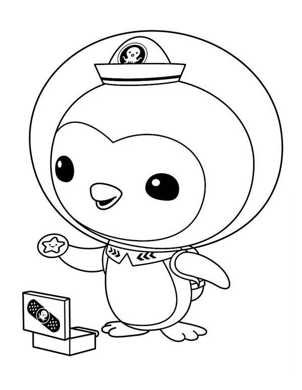 octonauts gup e coloring pages