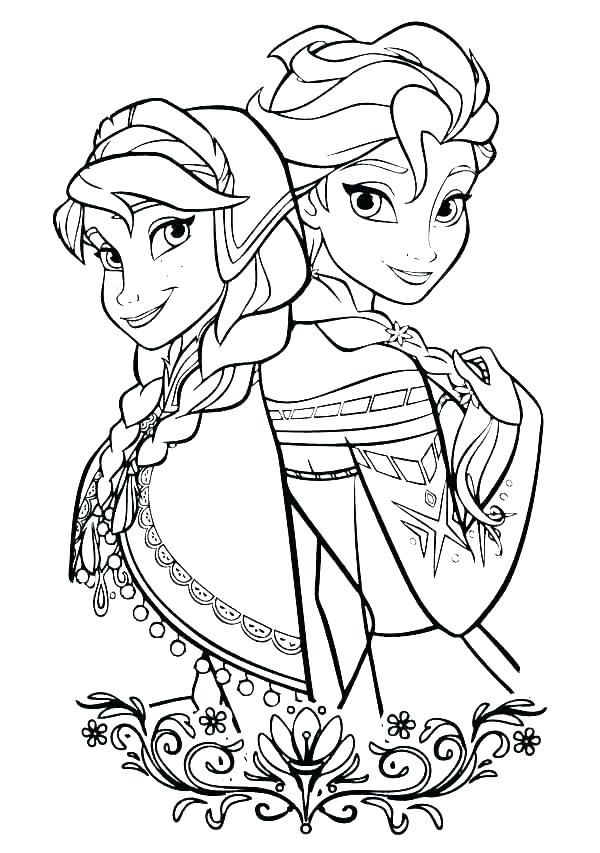 olaf christmas coloring pages free