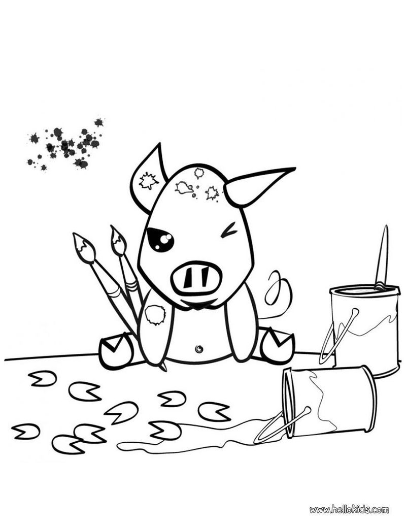 peppa pig christmas coloring book pages