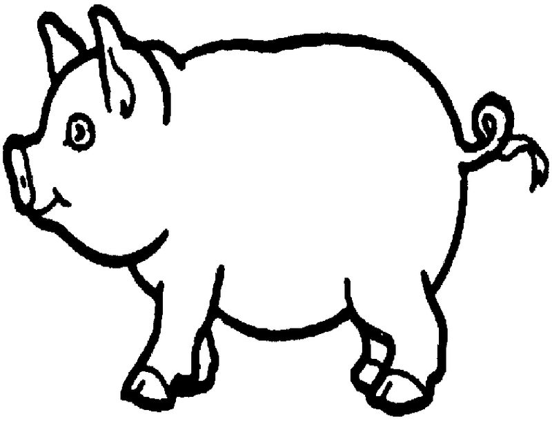 peppa pig colouring pages download