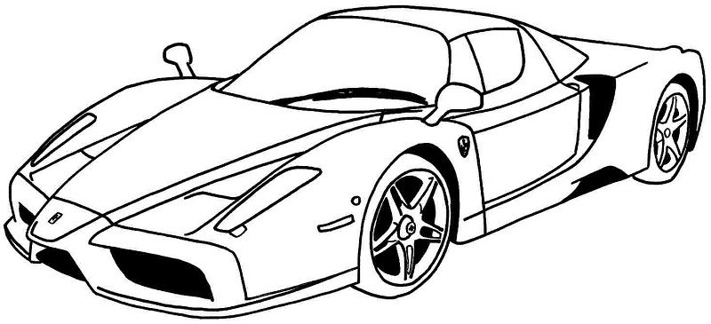 pictures of lamborghini coloring pages